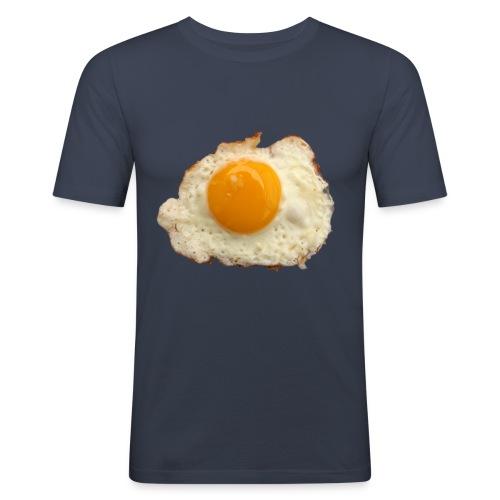Fried egg! - Männer Slim Fit T-Shirt