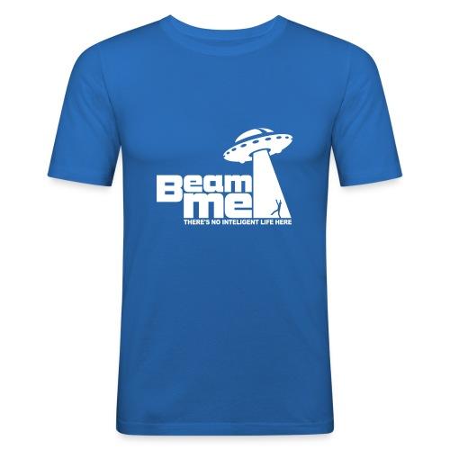 Beam me - slim fit shirt - Männer Slim Fit T-Shirt