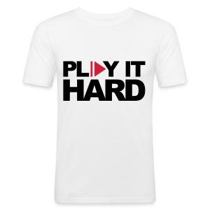Play it hard - slim fit T-shirt