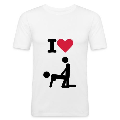 sex - Camiseta ajustada hombre