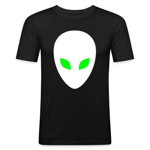 Glow Alien Tee - Men's Slim Fit T-Shirt
