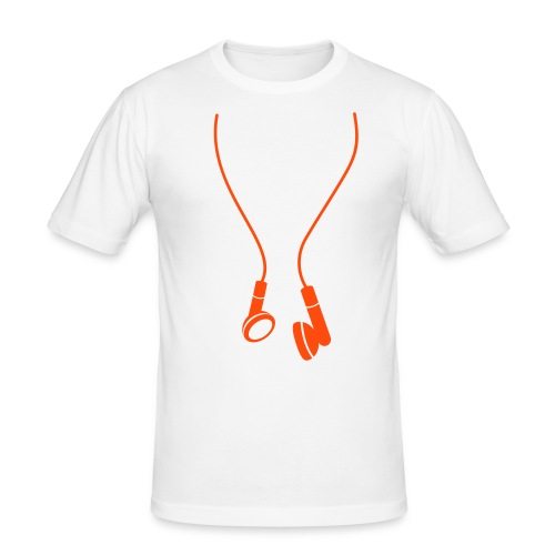 Music Motion T-shirt Herre - Slim Fit T-skjorte for menn