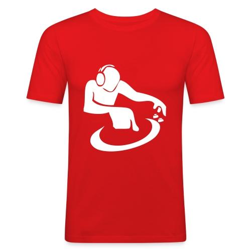 Global DJ (heren) - slim fit T-shirt