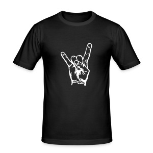 rock on - Men's Slim Fit T-Shirt