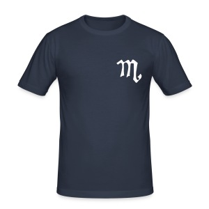 M t-shirt - Men's Slim Fit T-Shirt