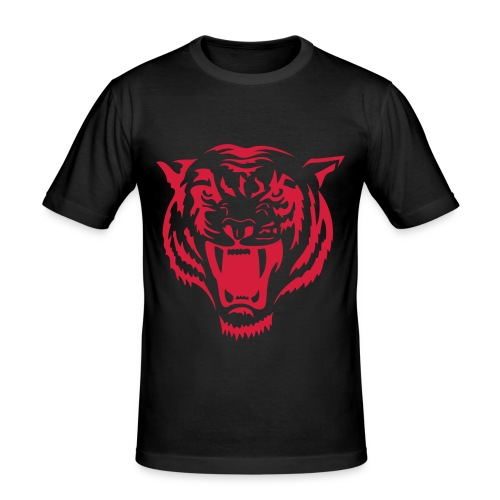 Club Shirt Tiger gelb - Männer Slim Fit T-Shirt
