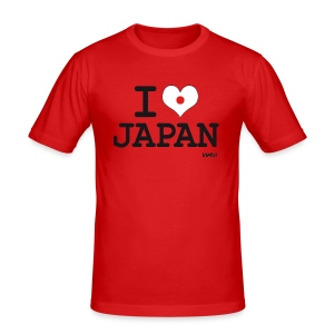 I love Japan - Tee shirt près du corps Homme