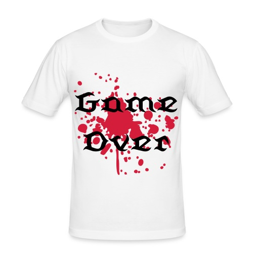 Game over - Herre Slim Fit T-Shirt