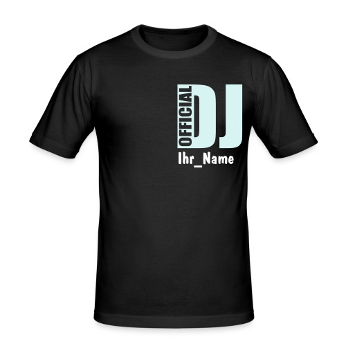 DJ Shirt - Männer Slim Fit T-Shirt