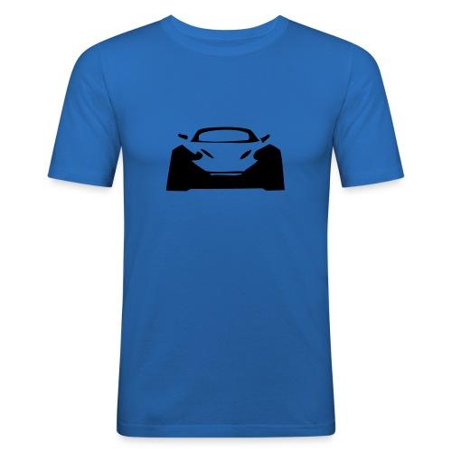Dobermann1 - Miesten tyköistuva t-paita