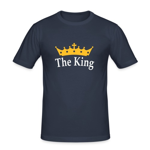 The king t-shirt - Herre Slim Fit T-Shirt
