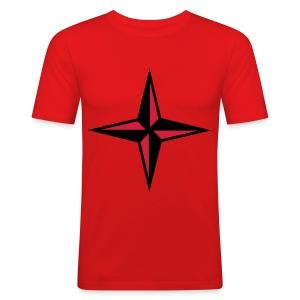 compass tee - Men's Slim Fit T-Shirt