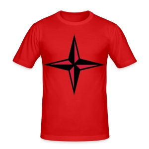 compass tee - Men's Slim Fit T-Shirt