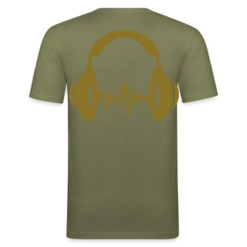 T-shirt près du corps Homme - tee shirt,t-shirt,muzik,musique,geek,cl0sed