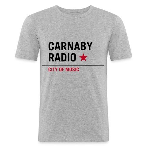 Carnaby Radio  - Maglietta aderente da uomo
