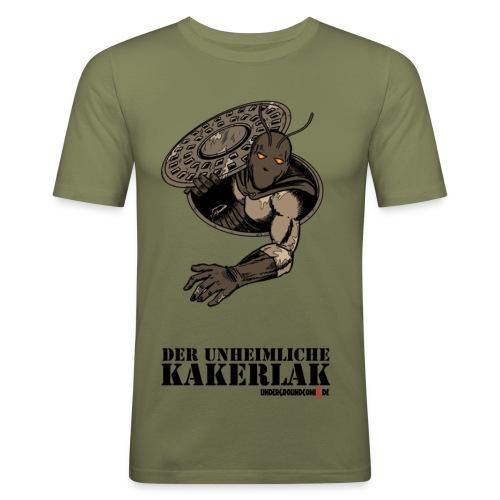 der unheimliche Kakerlak - Männer Slim Fit T-Shirt
