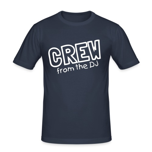 Crew fron the DJ - slim fit T-shirt