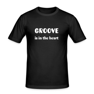 Groove is in the heart - Tee shirt près du corps Homme