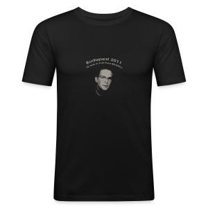 Budapest 2011 Official Tshirt - Man - slim fit T-shirt