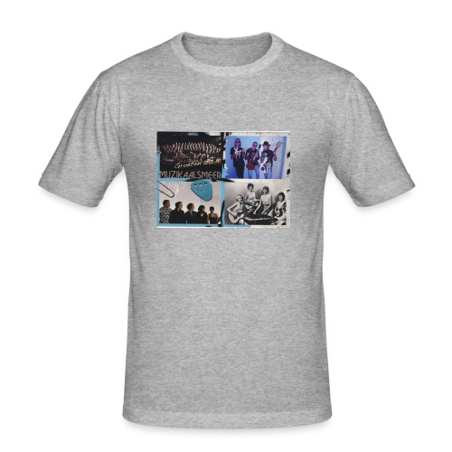 Muzikaalsmeer Mannen Slim Fit T-Shirt - slim fit T-shirt
