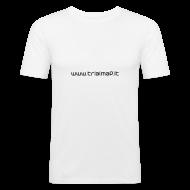 Magliette ~ Maglietta aderente da uomo ~ TM_Simple WHF01