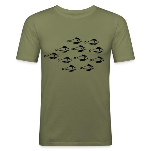 stim - Slim Fit T-skjorte for menn