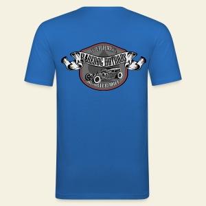 Raredog Rods 2 - Herre Slim Fit T-Shirt