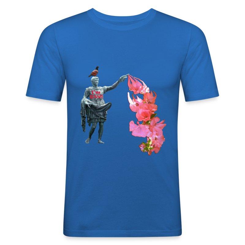 I'm gay, slimfit t-shirt - Herre Slim Fit T-Shirt