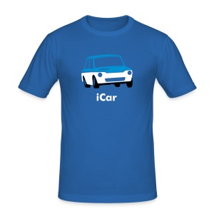 iCar - Slim Fit T-skjorte for menn