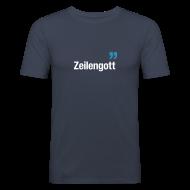 T-Shirts ~ Männer Slim Fit T-Shirt ~ ZEILENGOTT