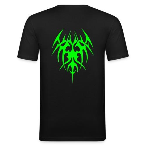tribal dos - T-shirt près du corps Homme