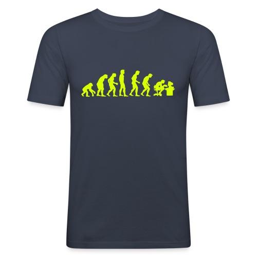 evolution-el parado - Camiseta ajustada hombre