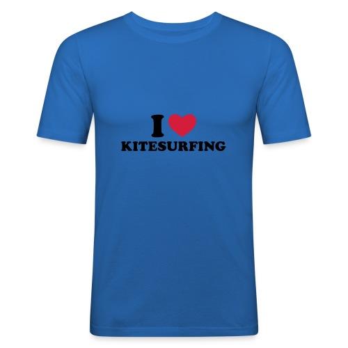 T-Shirt für Kiter - Männer Slim Fit T-Shirt