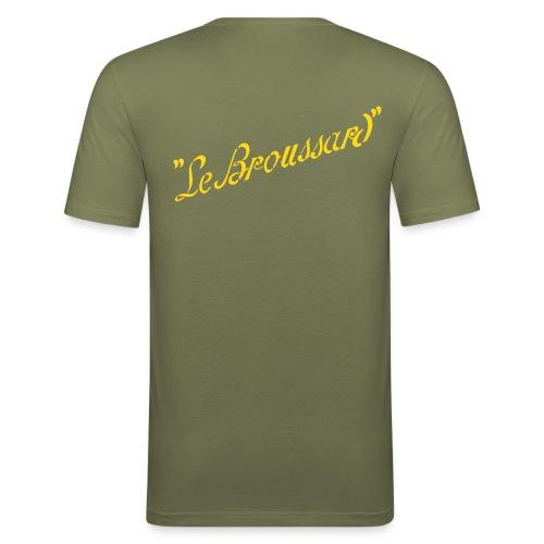 TShirt vert kaki homme Le Broussard simple personnalisable - T-shirt près du corps Homme