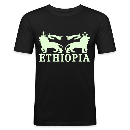 ETHIOPIA PHOSPHORESCENT - T-shirt près du corps Homme