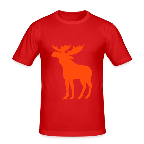 Elk Men's Slim Fit T-shirt - Camiseta ajustada hombre