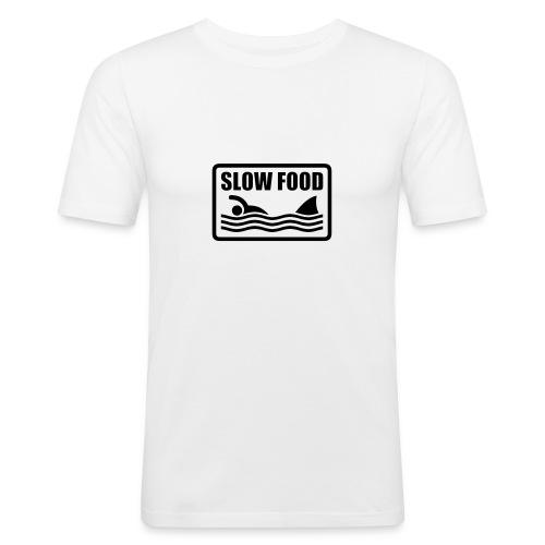 Slow Food - Maglietta aderente da uomo