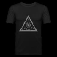 T-Shirts ~ Men's Slim Fit T-Shirt ~ TRIANGLE ts