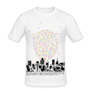 Luftballon (Slim Fit) - Männer Slim Fit T-Shirt