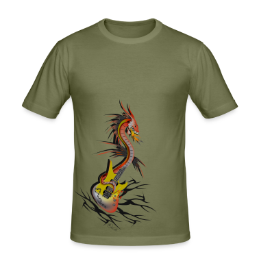 Camel Guitar Dragon T-Shirts