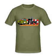 Tee shirts ~ Tee shirt près du corps Homme ~ Deuche Fire