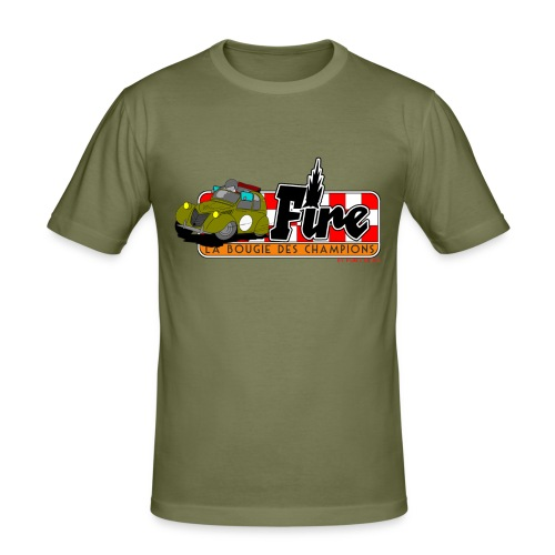 Deuche Fire - T-shirt près du corps Homme
