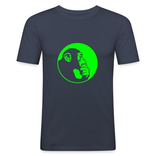 Q-STYLE Denkeraffe - slim fit T-shirt