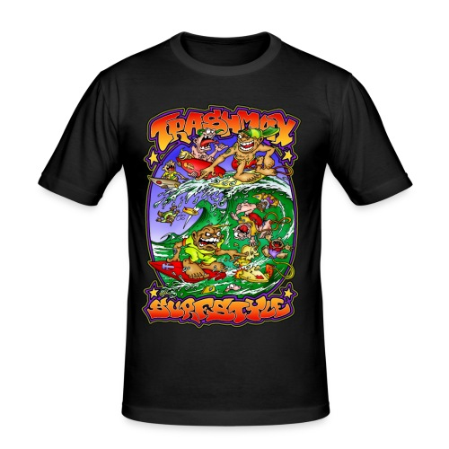 tm surf 1 - Männer Slim Fit T-Shirt