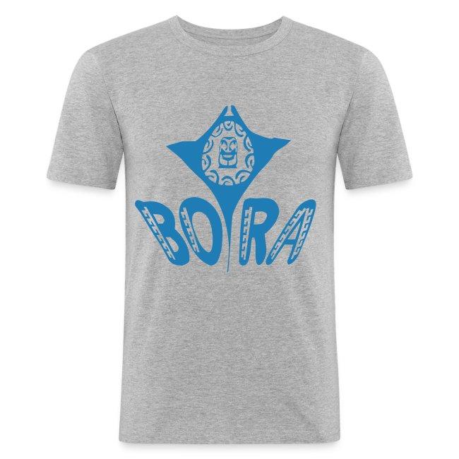 bora bleu etincelle manta tiki tattoo