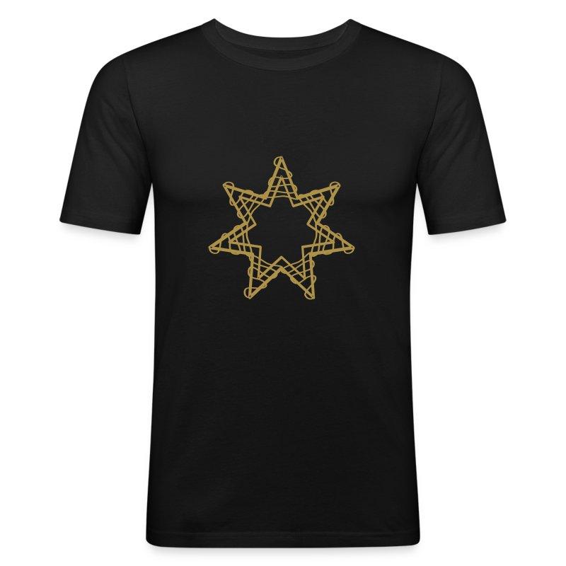 Sparkling star - Slim Fit T-shirt herr