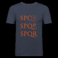 Camisetas ~ Camiseta ajustada hombre ~ Camiseta Slim Fit SPQR