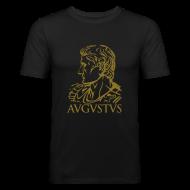 Camisetas ~ Camiseta ajustada hombre ~ Camiseta Slim Fit Augustus