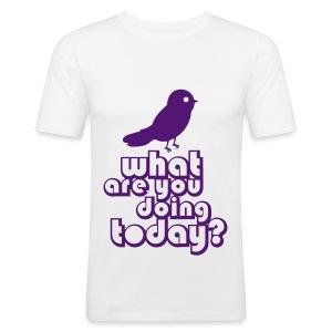 Doing Today - Men's Slim Fit T-Shirt