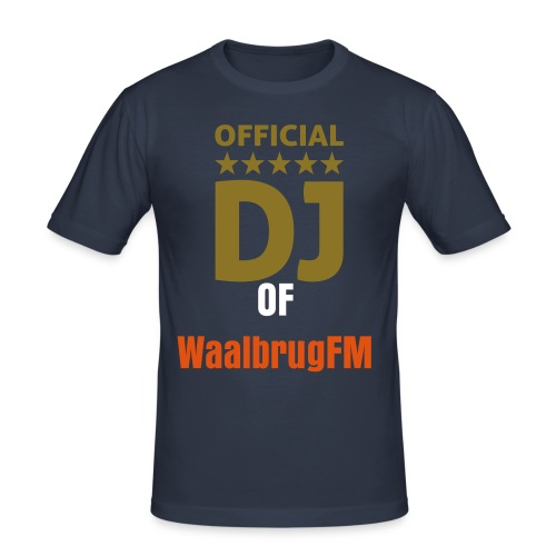 DJ of WaalbrugFM  - slim fit T-shirt
